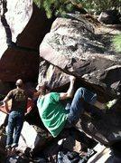 Rock Climbing Photo: John K