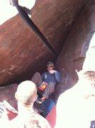 Rock Climbing Photo: Vinny...lovin' it!