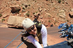 Rock Climbing Photo: getting whipped and loving it on Supercrack