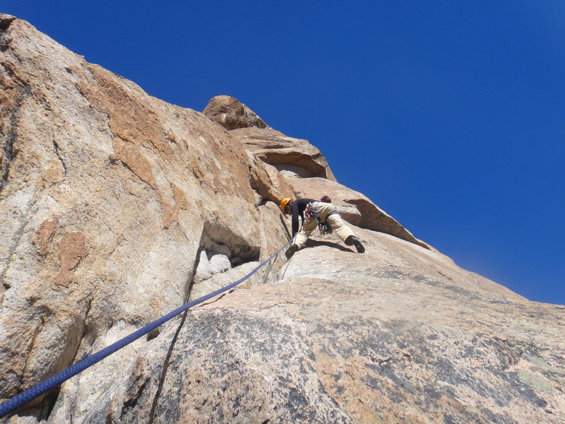 Rock Climbing Photo: Sienfuentes-Weber