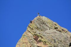 Rock Climbing Photo: Topping out....