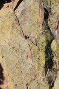 Rock Climbing Photo: The amazing finger crack on upper T2.