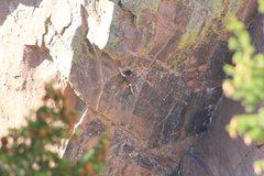 Rock Climbing Photo: Ted Lanzano on Desdichado.