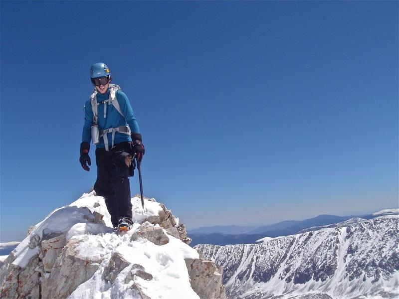 Rock Climbing Photo: Cory walking across Kelso after climbing Ded Dog C...