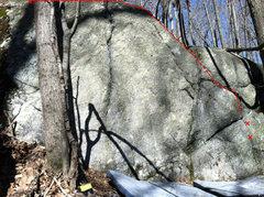 Rock Climbing Photo: Rhubarb