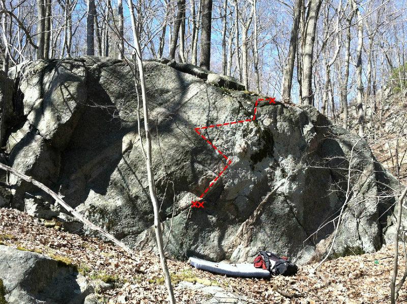Rock Climbing Photo: Top Shelf