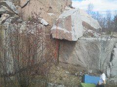 Rock Climbing Photo: Sexual Education V2