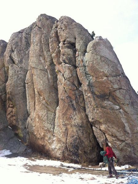 Rock Climbing Photo: The Nuggets Climbing Area
