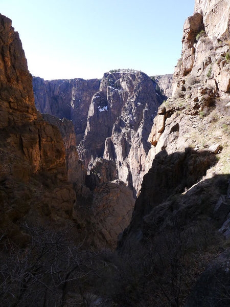 Rock Climbing Photo: Cruise Gully.