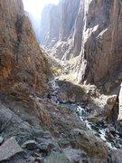 Rock Climbing Photo: Another river shot.