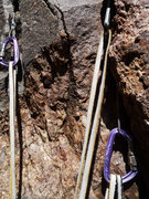 Rock Climbing Photo: Dreaded pegmatite.