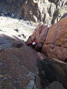 Rock Climbing Photo: Top of P6.