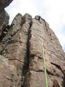 "Rock Climbing Photo: A look at ""Interface aka Slab Left"" - Ap..."