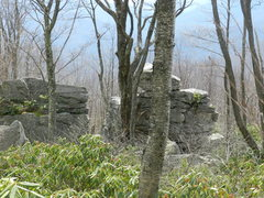 Rock Climbing Photo: The first two boulders that you encounter when tak...
