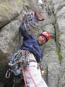 Rock Climbing Photo: yeah a 6