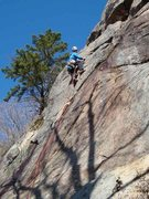 Rock Climbing Photo: Lukasz Czyz leading p1 of Carpenter & Das.