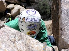 Rock Climbing Photo: Girls Can Do Anything