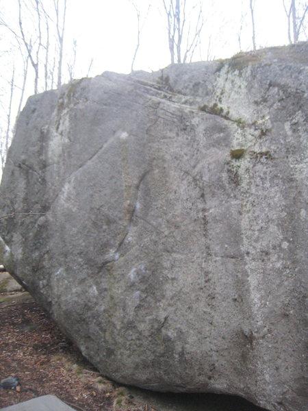 Rock Climbing Photo: Thrust Fault