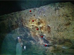 Rock Climbing Photo: Sorry, this picture is lacking, but I wanted to ge...