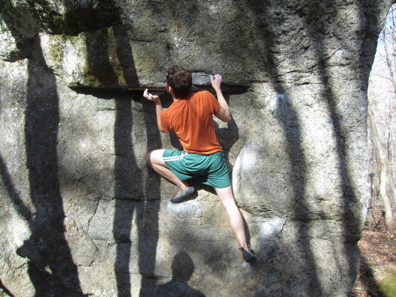 Rock Climbing Photo: Mark on the Dickens