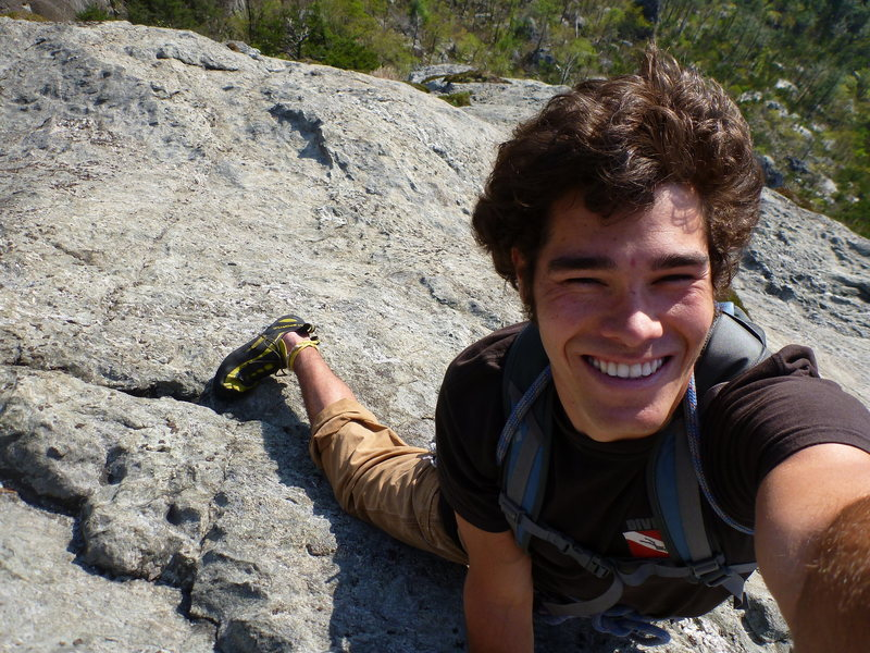 Free Solo of the Prow (Mike Holley, Apr 2012)