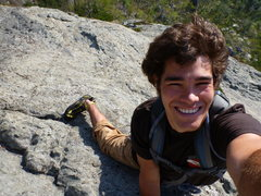 Rock Climbing Photo: Free Solo of the Prow (Mike Holley, Apr 2012)