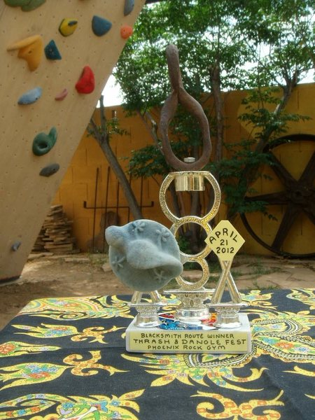 Rock Climbing Photo: Blacksmith Route Trophy