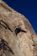 "Rock Climbing Photo: A No Hands Rest at the Crux of ""Fire or Retir..."