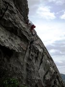 Rock Climbing Photo: Another day at the office...  You can't take your ...