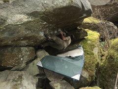 Rock Climbing Photo: Project