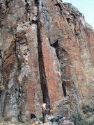 Rock Climbing Photo: Getting ready to climb Tweezers