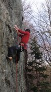 Rock Climbing Photo: Starting the first Boulder Problem