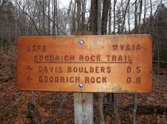 Rock Climbing Photo: Trailhead sign