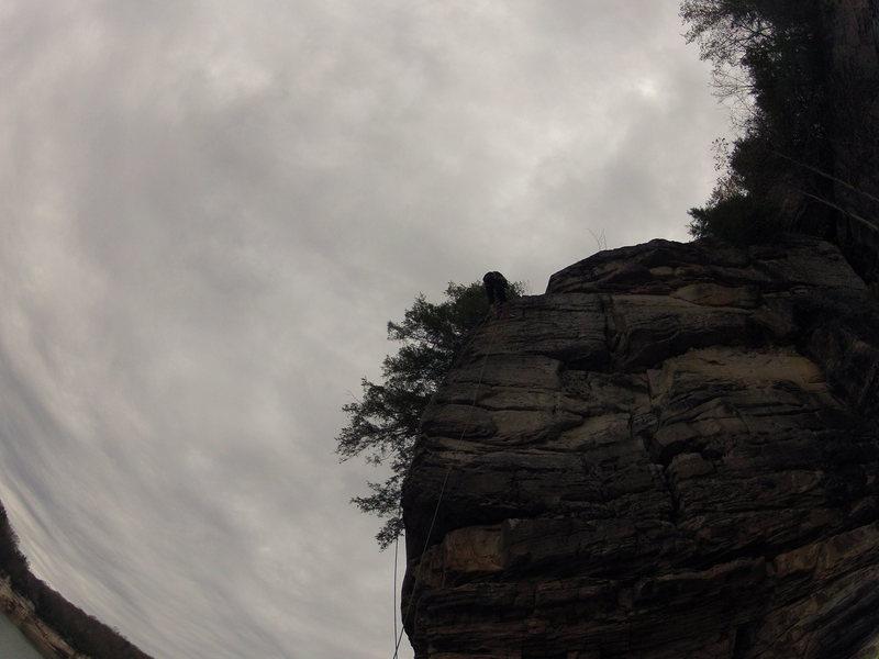 Rock Climbing Photo: Wendy's Jugs 5.7