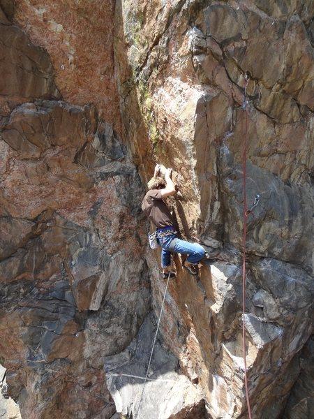 Rock Climbing Photo: Crimps!