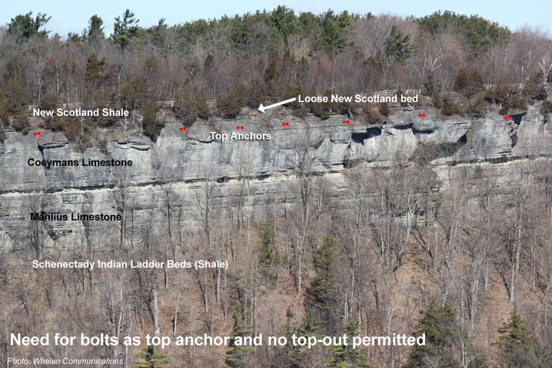 Rock Climbing Photo: Rock Layers
