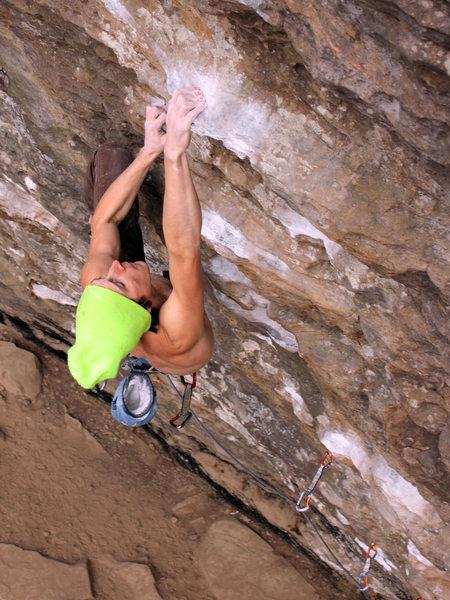Rock Climbing Photo: Convicted