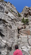 Rock Climbing Photo: The starting point is the lower two close together...