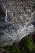 "Rock Climbing Photo: Jack Tracy launching into ""pitch 2"" of t..."
