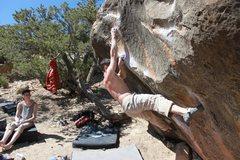 Rock Climbing Photo: Boysize - Right Fork
