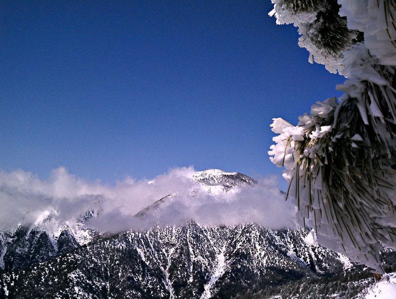 Rock Climbing Photo: Mount Baden-Powell