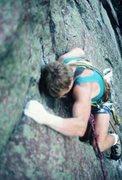 Rock Climbing Photo: Bechler, lead FA?