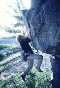 Rock Climbing Photo: Old school shot from the Prunes Collection. Not su...