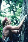 Rock Climbing Photo: From the Prunes Collection. Bechler on lead, 2nd a...