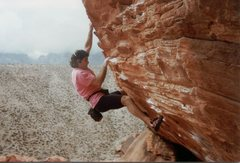 Rock Climbing Photo: More Bouldering,The Gallery 1990s.