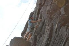 Rock Climbing Photo: Zach on the Column area