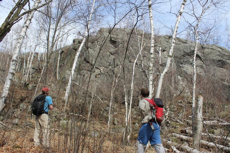 Foxx Rocks (bluff climbing and loving it)