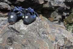 Rock Climbing Photo: f*#$ing shoes