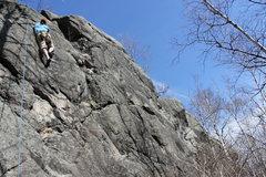 Rock Climbing Photo: not quite vertical
