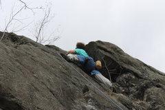 Rock Climbing Photo: Zach V sending